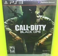 CALL OF DUTY BLACK OPS 1 - (Sony PlayStation 3, 2010) PS3 CIB  M - 17+