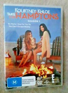 KOURTNEY AND KHLOE TAKE THE HAMPTONS season 1 UK Compatible R2 DVD NEW SEALED