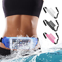 Waterproof Underwater Fanny Pack Waist Bag Phone Holder Pouch Travel Camping PVC