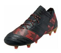 Adidas nemeziz 17.1 FG Size 12 Black Solar Red soccer cleats