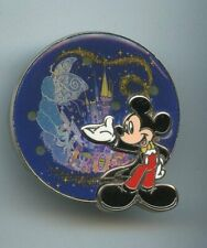 Disney Tokyo Electrical Dreamlights Parade Mickey Mouse Blue Fairy Floats Pin
