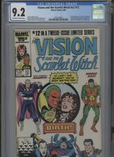 VISION AND THE SCARLET WITCH V2 #12 HI GRADE 9.2 CGC SCARLET WITCH GIVES BIRTH