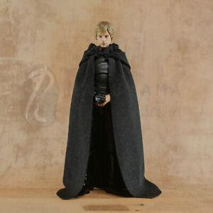 1/12 6 inch Luke Black Cloth Cloak Accessories(Only Cloak )