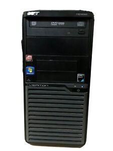 Acer VERITON M221 | AMD Athlon II X2 215@2.7GHz | 4GB RAM | DVD drive | No HDD