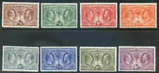 Cayman Islands KG 5th 1932 Centenary set mint hinged to 6d (2020/04/03#03)