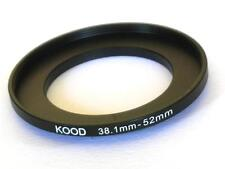 STEP UP ADAPTER 38.1MM-52MM STEPPING RING 38.1MM TO 52MM 38.1-52 FILTER ADAPTER