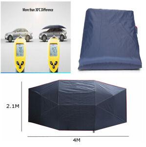 Portable Folded UV Oxford Cloth for Car Sun Shelter Umbrella Tent Roof Cover