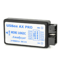 USB saleae Logic Analyzer w/ Lines USB Cable 24MHz 8CH CAN 24MHz for SCM Black