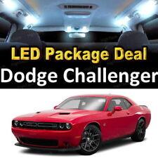 For 2008 - 2013 2014 Dodge Challenger LED Lights Interior Package Kit WHITE 9PCS