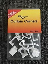 RV Designer Collection A104 Curtain Carriers 14 Pack