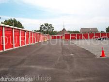 Duro Steel 40x120x85 Metal Mini Self Storage Prefabricated Building Kits Direct