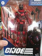 Gi Joe Classified Series Red Ninja Action Figure *IN HAND*