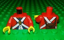 *NEW* Lego British Soldier Imperial Guard Torso Body Minfigures Figure Fig x 1