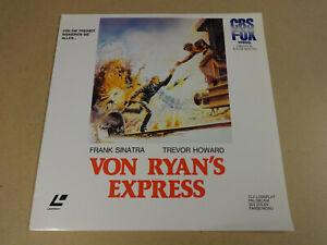 LASERDISC / VON RYAN'S EXPRESS (FRANK SINATRA, TREVOR HOWARD)