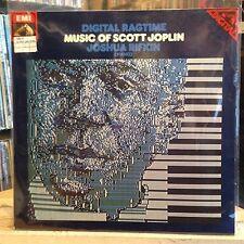 [SOUL/JAZZ]~NM LP~JOSHUA RIFKIN~Digital Ragtime~Of Scott Joplin~[1980~GERMANY IM