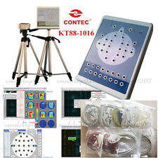 CE CONTEC KT88 EEG Machine And Mapping Systems,Brain Electric 16-Channel,Tripods