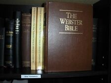VERY RARE WEBSTER BIBLE  Watchtower research JEHOVAH