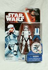 """Star Wars The Force Awakens 2015 FIRST ORDER STORMTROOPER 3 3/4"""" Action Figure"""
