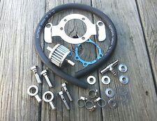 Chrome Air Cleaner Breather Bracket Kit 93-2007 Harley Big Twin Evo or Twin Cam