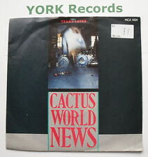 """CACTUS WORLD NEWS - Years Later - Excellent Condition 7"""" Single MCA 1024"""