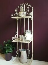 Antique French Vintage Style Wall Shelf Unit Storage Cabinet Display Shabby Chic