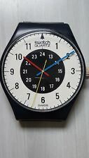 Swatch Maxi Clock dial-only 1985 Chrono Tech