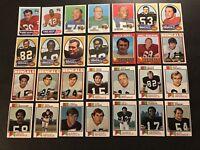 1969 1970 1971 1972 73 Topps CINCINNATI BENGALS Lot BOB TRUMPY Hunt CARTER Myers