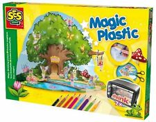 SES Creative Toys - Magic Fairy House Shrinking Paper Set - Shrinks 7x - 14964