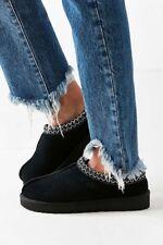 Women's Shoes UGG 5955 Classic Tasman Braid Slippers Black Blue  6 7 8 9 10
