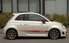 Fiat 500 Abarth Side Stripes Decals Autocollants Kit Graphique Pick Couleur