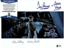 "DAVE PROWSE & KEN COLLEY Signed Autographed 8x10 ""STAR WARS"" BECKETT #D55105"
