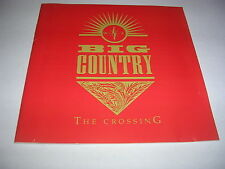 Big Country - Crossing CD (1996)  RED COVER  Alt. Rock