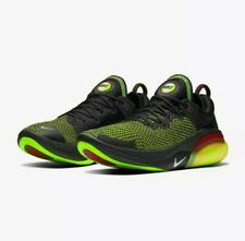 Nike Joyride Run FlyKnit Black/Green Men's Shoes UK 8.5 NEW SAMEDAY DISPATCH
