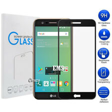 Full Coverage Tempered Glass Screen Protector Telstra Signature 2 / LG K10 2017