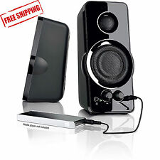 Blackweb 2.0 Powerful Speaker System with AUX-in jack 3.5mm