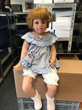 Monika Levenig Vinyl Puppe 75 cm. Top Zustand