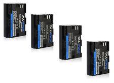 4x LP-E6 Battery Pack for Canon EOS 5D Mark 2 3 4 60D 60Da 6D 70D 7D 80D 5DS R
