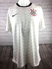 Corinthians Paulista Football Shirt home Kit size Medium. Brazil 9 Nike VGC.