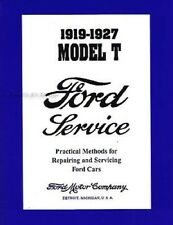 Ford Model T Service Manual CD 1919 1920 1921 1922 1923 1924 1925 1926 1927