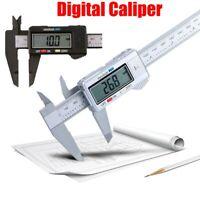 LCD Digital Electronic Carbon Fiber Vernier Caliper Gauge Micrometer 150mm/6inch