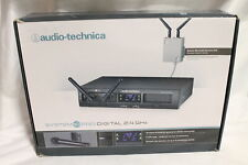 Audio-Technica ATW-1311/L 10 Pro Digital Wireless Dual Lavalier Mic System-Black