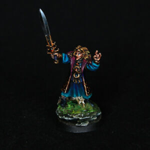 Mage OOP High Elves Hero PRO PAINTED Age of Sigmar Warhammer Fantasy