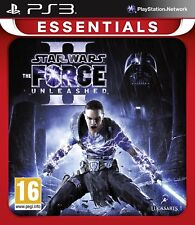 Star Wars The Force Unleashed 2 II PS3 Sony PlayStation 3 Brand New Sealed