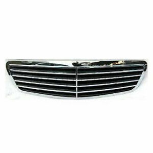 New For MERCEDES-BENZ S430 Front Grille Fits 2000-2002 MB1200115 2208800383