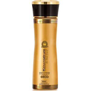 Keratin Cure Best Treatment Gold & Honey Bio 5 Oz Silky Soft Hair Straightening