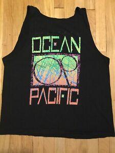 Vintage 1991 Ocean Pacific Tank Top size xl