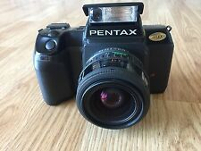 PENTAX FILM CAMERA SF7 With SMC PENTAX F ZOOM. 1:3.5-4.5 35-70mm Lens