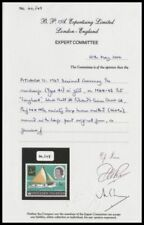 PITCAIRN ISLANDS 1967 ½c MISSING BROWN w/CERTIFICATE FINE MINT RRR