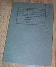 Natural History And Method Of Controlling The Starfish by Paul Galtsoff  PB 1939