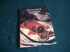 KENMORE     MICROWAVE COOKING     COOKBOOK Hardcover English Illustrated